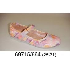 Girls' amazing leather shoes, model 69715-664