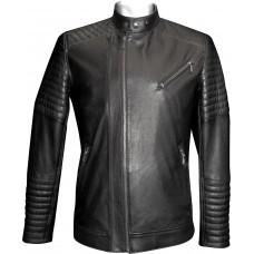 Men's leather jacket summer, model M127