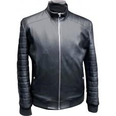 Men's leather jacket summer, model M129