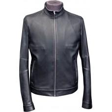Men's leather jacket summer, model M130