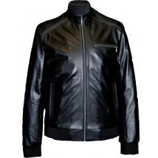 Men's leather jacket summer, model M224/1
