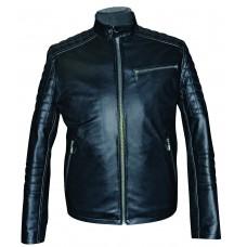 Men's leather jacket summer, model M227