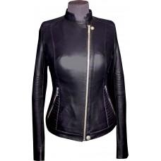 Women's leather jacket summer, model W116