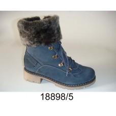 Kids' blue-gray nubuck boots, model 18898-5