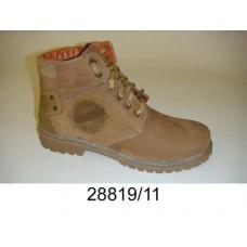 Kids' desert nubuck warm boots, model 28819-11