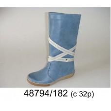 Kids' blue light warm boots, model 48794-182