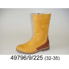 Kids' desert leather boots, model 49796-9-225