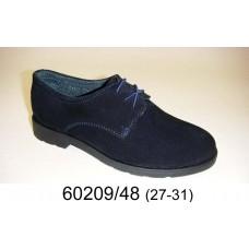 Kids' suede shoes, model 60209-48