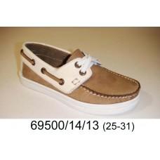 Kids' desert leather top-sider, model 69500-14-13