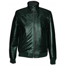 Men's leather jacket summer, model M152