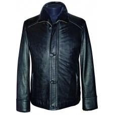 Men's leather jacket winter, model M210