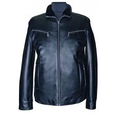 Men's leather jacket winter, model M216D