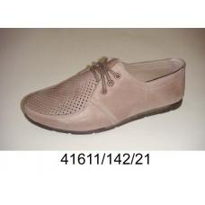 Men's desert leather summer shoes, model 41611-142-21
