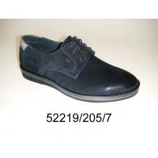 Men's nubuck shoes, model 52219-205-7