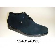 Men's suede boots, model 52431-48-23