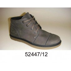 Men's leather boots, model 52447-12