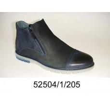 Men's leather boots, model 52504-1-205