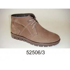 Men's desert leather boots, model 52506-3