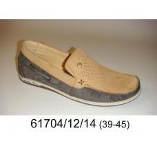 Men's bicolor moccasins, model 61704-12-14