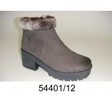 Women's nubuck warm boots, model 54401-12