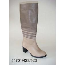 Women's desert leather high boots, model 54701-423-523