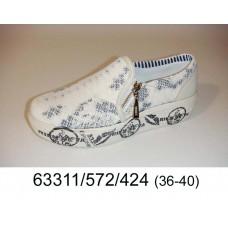 Women's leather slip-on, model 63311-572-424