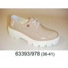 Women's desert leather shoes, model 63393-978