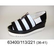 Women's open toe platform shoes, model 63400-113-221